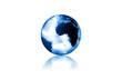 blue world - glas