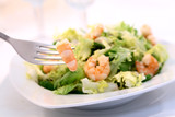 shrimp salad - swallow DOF- poster