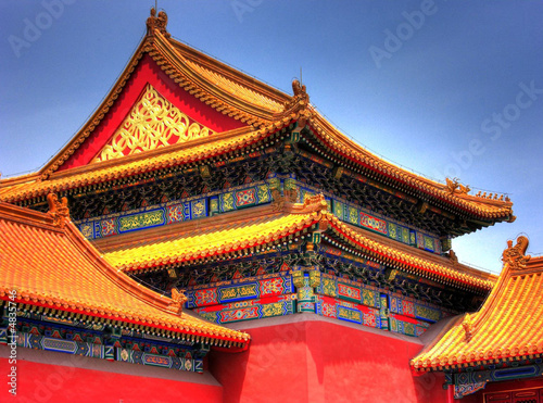 Foto op Canvas Beijing Forbidden City - Beijing / China