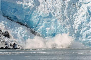 Alaska Glacier Breaking