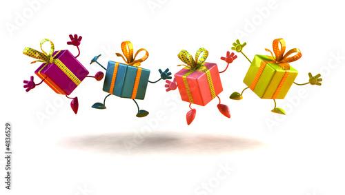 Leinwandbild Motiv Cadeaux