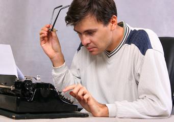 Portrait of writer