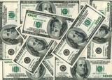 American Dollars. XXXL size poster