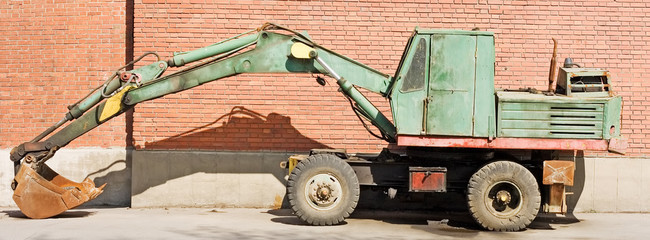 excavator bulldozer power shovel