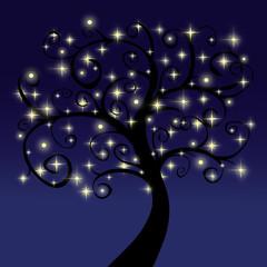 Arbre d'étoiles