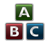 ABC bunt poster