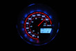 Glowing Speedometer - Going Fast