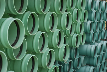 green sewer pipe 1