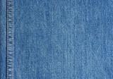 Džíny textury s stehem