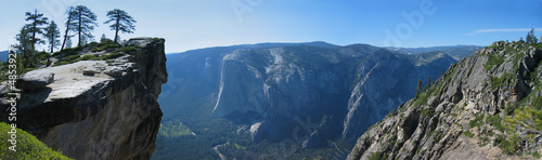 Taft Point in Yosemite National Park, USA