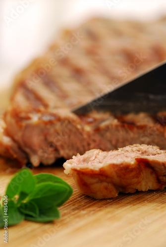 Fototapeta Grilled steak