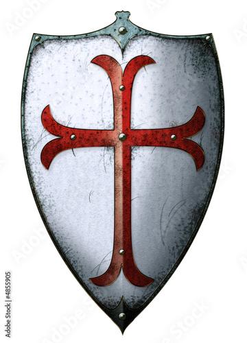 Schild Wappen Tenpelritter - 4855905