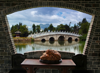 A scenery view of Lijiang