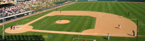 canvas print picture Baseball Pitch