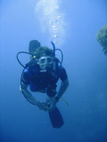 Scuba diving adventure poster