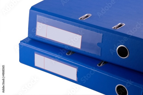 Blue file binder - technical manual -