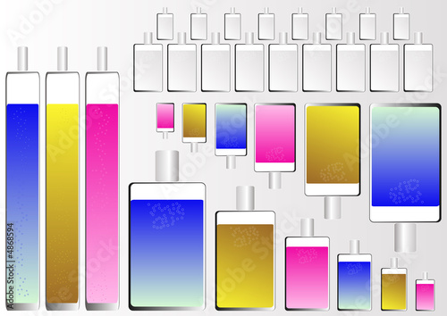 glass cosmetics bottles