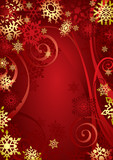 Christmas Snowflakes (vector or XXL jpeg image)