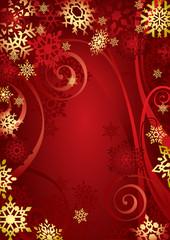 Christmas Snowflakes (vector or XXL jpeg image)