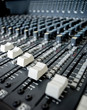 Audio mixer board faders