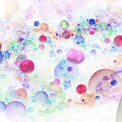 Abstract 3D bubbles