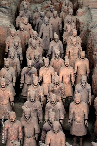 Papiers peints Xian Armée de terre cuite 6