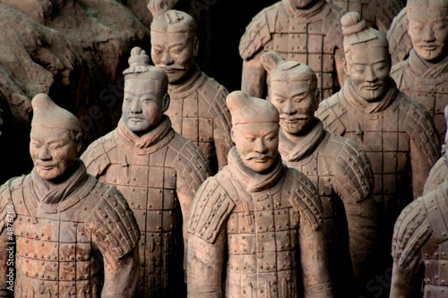 Papiers peints Xian Armée de terre cuite 5