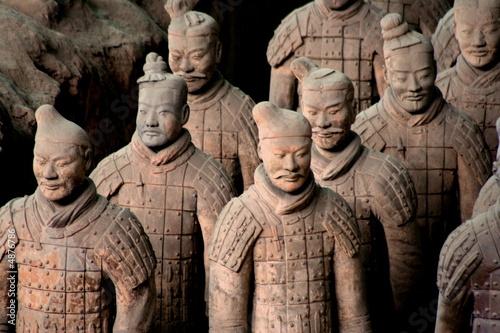 Foto op Canvas Xian Armée de terre cuite 5