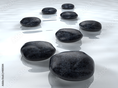 Leinwandbild Motiv Stones 3