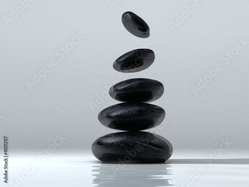Leinwandbild Motiv Stone tower