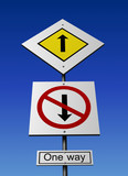 Priority sign poster