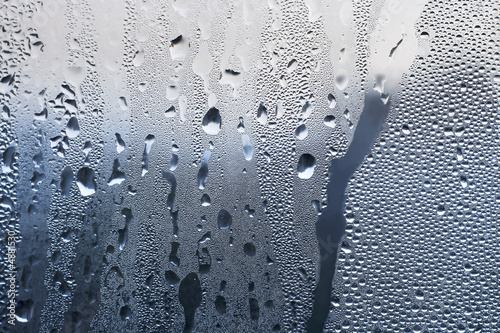 water drops on glass #3