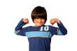 Boxender Junge