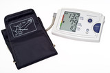 Automatic digital blood pressure monitor poster