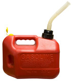 Red One Gallon Gasoline Container with Spout  poster