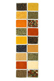 Cuisine spices and herbs poster