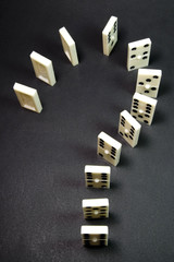question domino