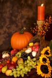 Thanksgiving Harvest poster