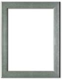 Fototapety Silver picture frame border design