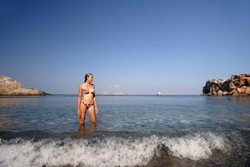Vardia Beach, Folegandros II