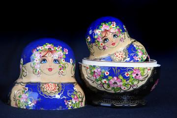 bonecas russas de madeira