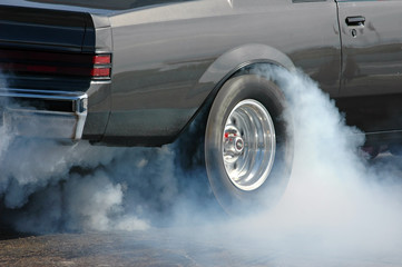 Smoking tire  1