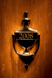 Door leading to a new year 2008 poster