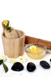 Wellness Sauna und Steine poster