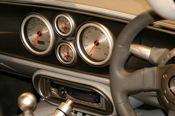sportscar dashboard