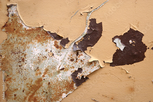 Staande foto Wereldkaart Rusty Texture
