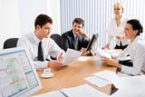 Fototapety Business meeting