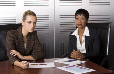 Two female business (blond)