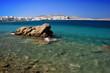 Rocky beach - Mykonos island, Greece