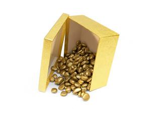 gold patten pebbles